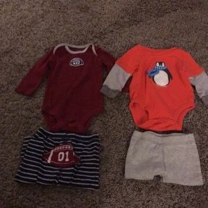 2 outfits 3 month boy